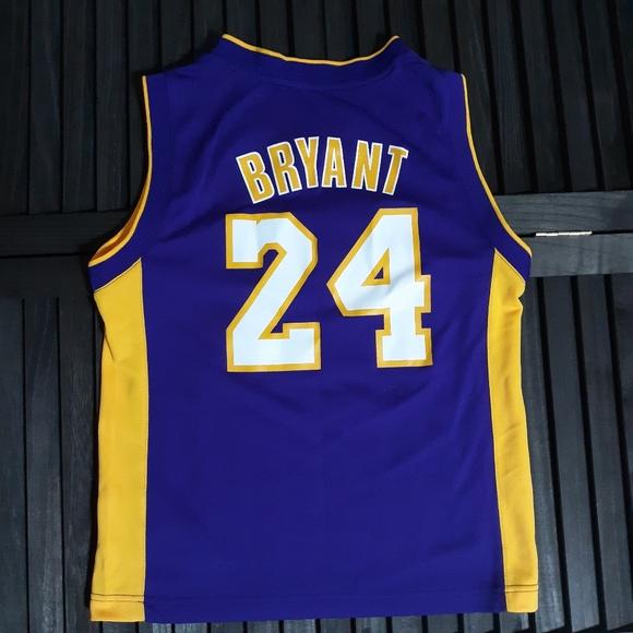 adidas Shirts & Tops | Adidas Lakers Kobe Bryant Jersey Junior ...